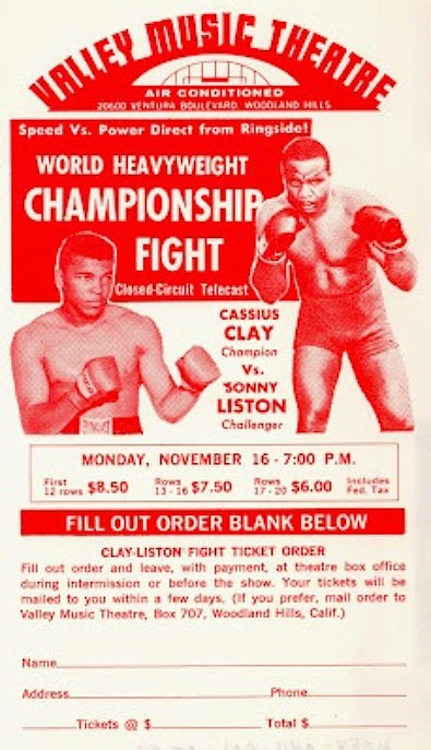 Fig 60-Pay-per-view telecast of Clay-Liston fight