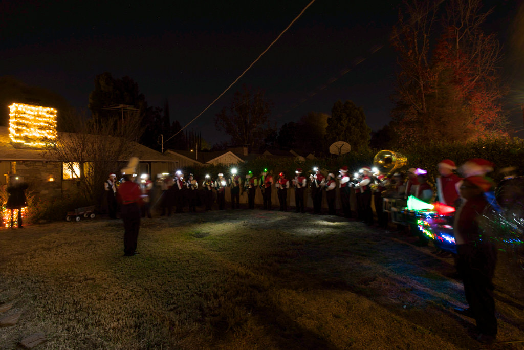 Taft band on Candy Cane Lane